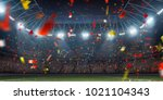 dramatic 3d professional... | Shutterstock . vector #1021104343