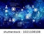 2d illustration business... | Shutterstock . vector #1021108108