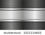 perforated background with... | Shutterstock .eps vector #1021114603