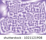 abstract violet background with ... | Shutterstock .eps vector #1021121908