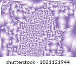 abstract violet background with ... | Shutterstock .eps vector #1021121944