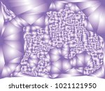 abstract violet background with ... | Shutterstock .eps vector #1021121950