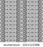 ethnic tile. pattern from...   Shutterstock . vector #1021122388