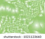 abstract green background with... | Shutterstock .eps vector #1021123660