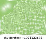 abstract green background with... | Shutterstock .eps vector #1021123678