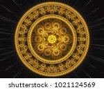 Inticate Fractal Mandala....