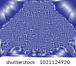 abstract blue background with... | Shutterstock .eps vector #1021124920