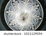 historic beautiful white... | Shutterstock . vector #1021129054