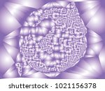 abstract background with... | Shutterstock .eps vector #1021156378