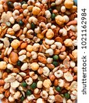 Small photo of Mixed peanut contain of green bean, corn, peanut, and pilus.