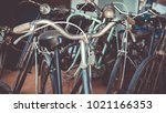 many old antique vintage... | Shutterstock . vector #1021166353