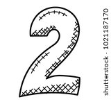 2  two numerical digit doodle