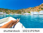 Greek Village Of Loutro  Chani...