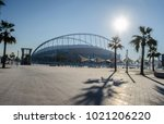 doha  qatar   january 12  2018  ... | Shutterstock . vector #1021206220