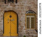 stone old city jaffa in tel...   Shutterstock . vector #1021210978