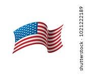 usa flag isolated | Shutterstock .eps vector #1021222189