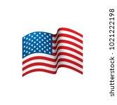 usa flag isolated   Shutterstock .eps vector #1021222198