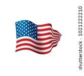 usa flag isolated | Shutterstock .eps vector #1021222210