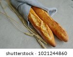 French Baguette And Baguette...