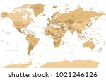 political vintage golden world... | Shutterstock .eps vector #1021246126