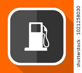 petrol vector icon. flat design ... | Shutterstock .eps vector #1021258030