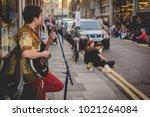 london  uk   february 2018.... | Shutterstock . vector #1021264084