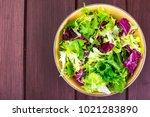 concept of vegetarian diet.... | Shutterstock . vector #1021283890