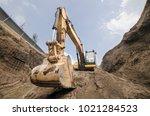 Huge Land Excavator Big...