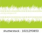 spring banner with grass. green ... | Shutterstock .eps vector #1021293853