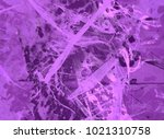 abstract painting. ink handmade ... | Shutterstock . vector #1021310758