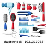 set collection of professional... | Shutterstock .eps vector #1021311088