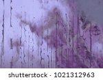 abstract painting. ink handmade ... | Shutterstock . vector #1021312963