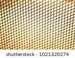 golden mesh with soft focus in... | Shutterstock . vector #1021320274