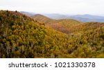 aerial drone view of a mountain ...   Shutterstock . vector #1021330378