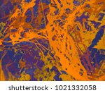 abstract painting. ink handmade ... | Shutterstock . vector #1021332058