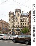 st.petersburg  russia   27 may... | Shutterstock . vector #1021387408
