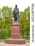 st.petersburg  russia   27 may... | Shutterstock . vector #1021387438