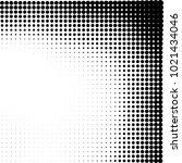 halftone black and white... | Shutterstock .eps vector #1021434046