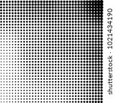 halftone black and white... | Shutterstock .eps vector #1021434190