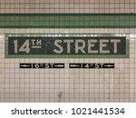 new york city   december 12 ... | Shutterstock . vector #1021441534