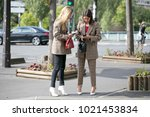 paris october 2 2016. natasha...   Shutterstock . vector #1021453834