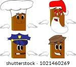 books shrugs shoulders... | Shutterstock .eps vector #1021460269