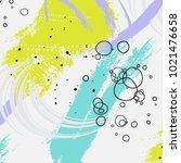 paint brush vector pattern.... | Shutterstock .eps vector #1021476658