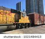 chicago  illinois   january 26  ... | Shutterstock . vector #1021484413