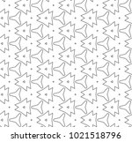 seamless ornamental vector... | Shutterstock .eps vector #1021518796