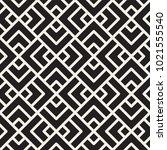 vector seamless lattice pattern.... | Shutterstock .eps vector #1021555540