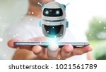 Businessman On Blurred...