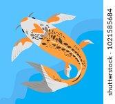 vector iflat llustration with...   Shutterstock .eps vector #1021585684