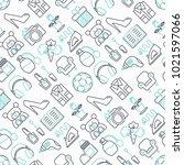 hypermarket seamless pattern... | Shutterstock .eps vector #1021597066