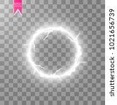 transparent light effect of... | Shutterstock .eps vector #1021656739